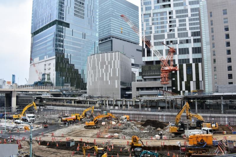 渋谷周辺では再開発がピークを迎えている
