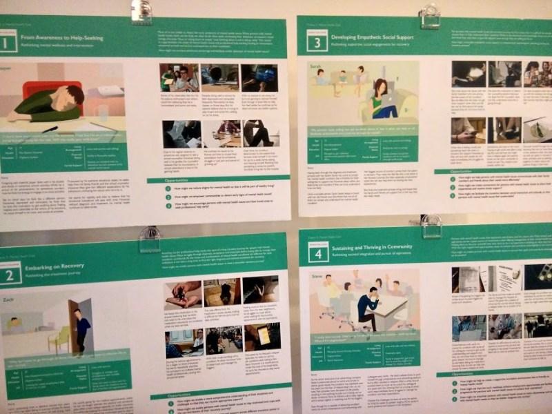 様々な社会課題を整理したパネル