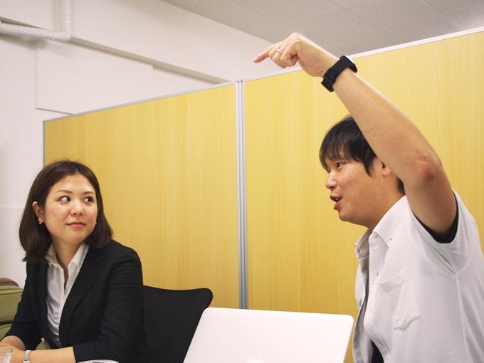 かものはし日本事業統括ディレクター山元さんと、アソシエイト横山さん
