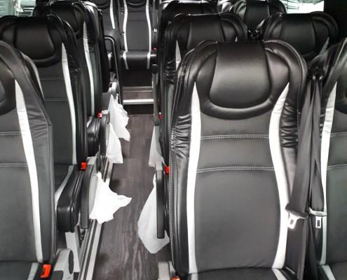 Mercedes Minibus Business Interior Amsterdam