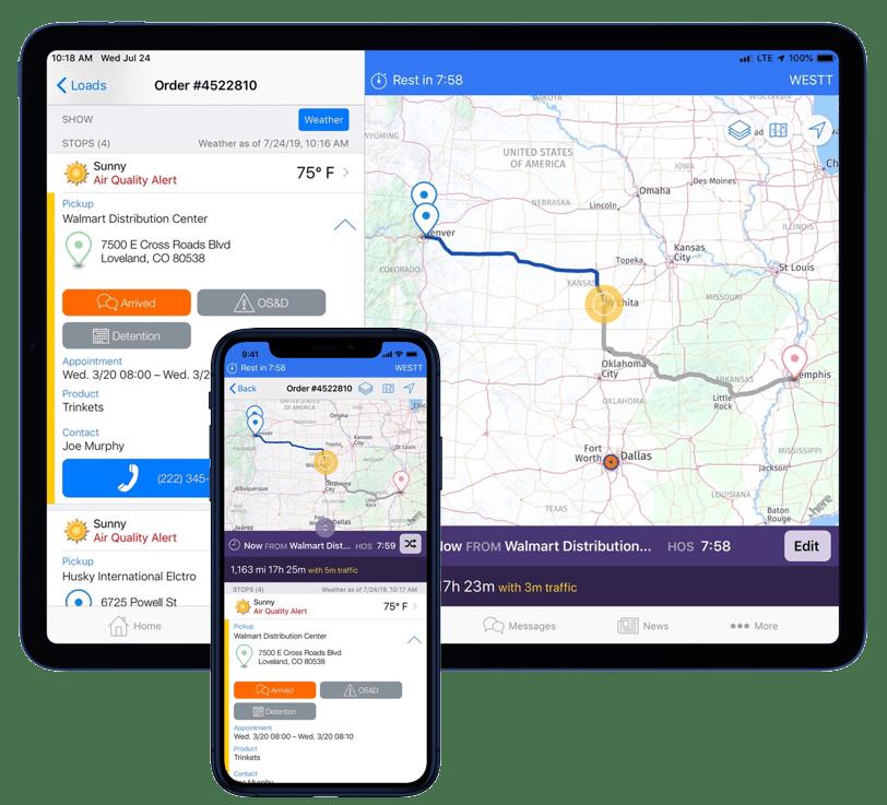 Eleos Platform - Driver Mobile App Platform