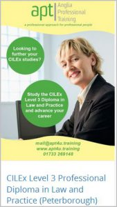 CILEx Level 3 Professional Diploma in Law & Practice