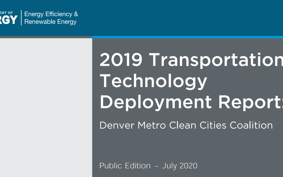 2019 Clean Cities Annual Report