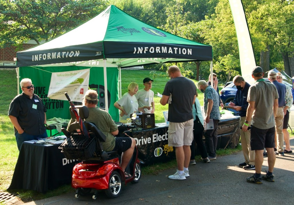 National Drive Electric Week in Dayton Ohio September 28, 2021 shared by Drive Electric Dayton