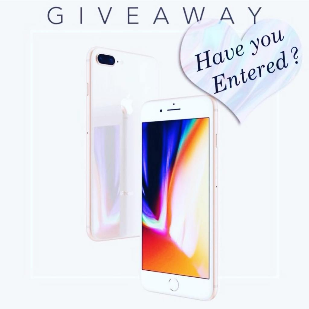 Have you entered to win an iphone8 ??? Head overhellip