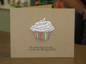 Glitter Cupcake