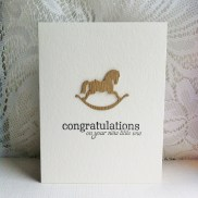Congratulations rocking horse (1)