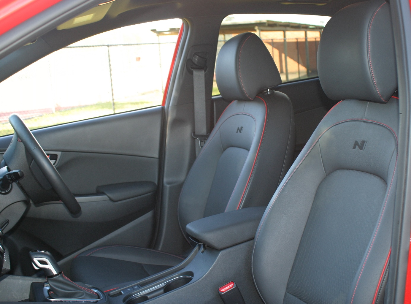 Hyundai Kona N Line Premium front seats