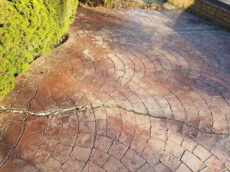 Imprinted Concrete Drive Repairs – Coventry
