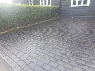 Patterned Concrete Repair - Hertfordshire - Drive Revival