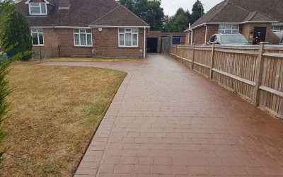 Patterned Concrete Reseal & Maintenance Berkshire