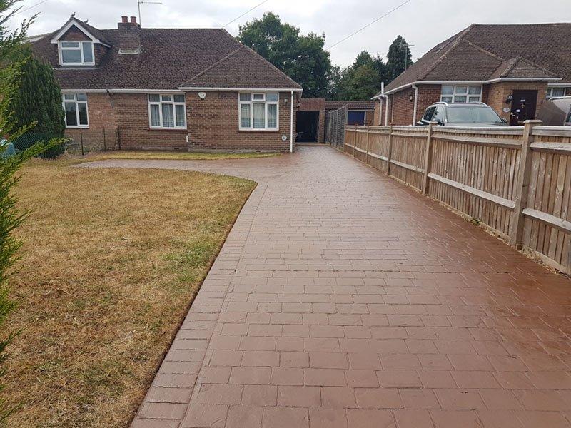 Patterned Concrete Reseal & Maintenance Berkshire