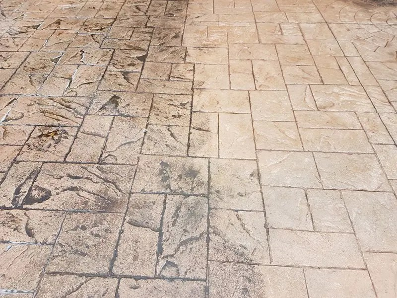 Patterned Concrete Maintenance in Wiltshire