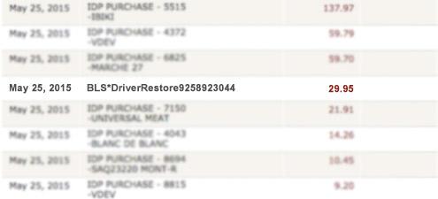 BLS Driver Restore 9258923044
