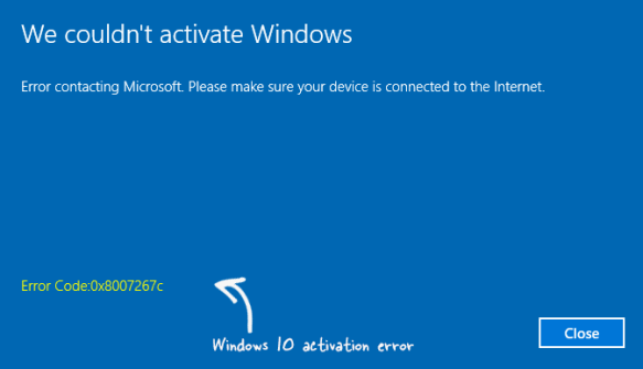 15 most common windows 10 activation errors how to fix them fix activation error in windows 10 ccuart Images