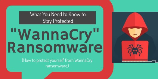 WannaCry - protect yourself from WannaCry ransomware