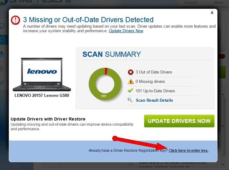Driver Restore Serial Key