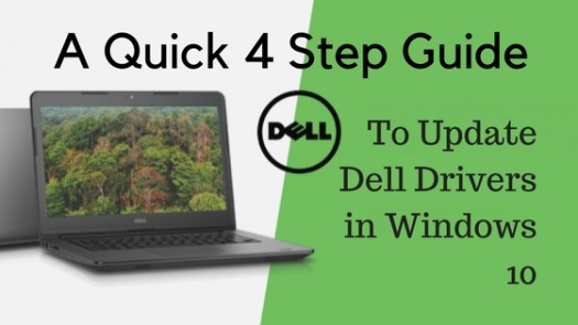 How to Download Update Dell Drivers For Windows 10?