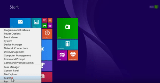 Manually Update Drivers in Windows 8