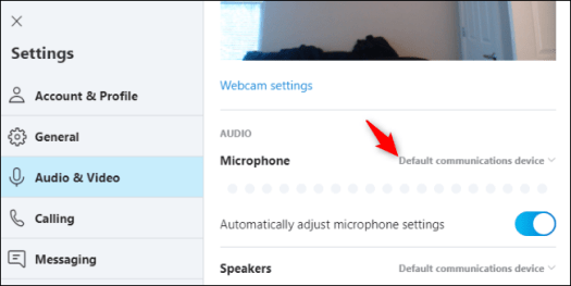 test Microphone Settings