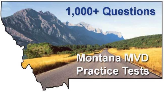 Montana MVD Practice Tests