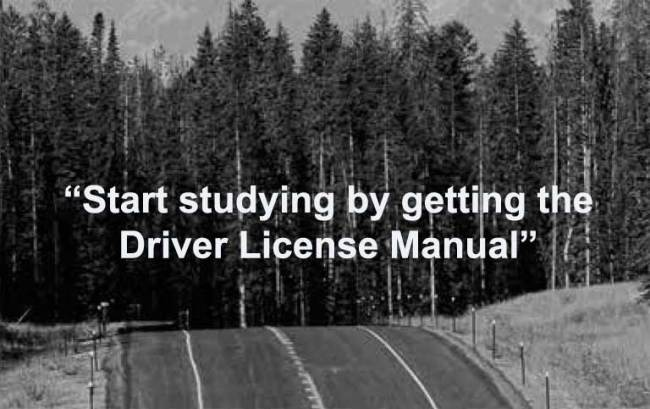 Wyoming Driver License Manual - Background photo by WYDOT.