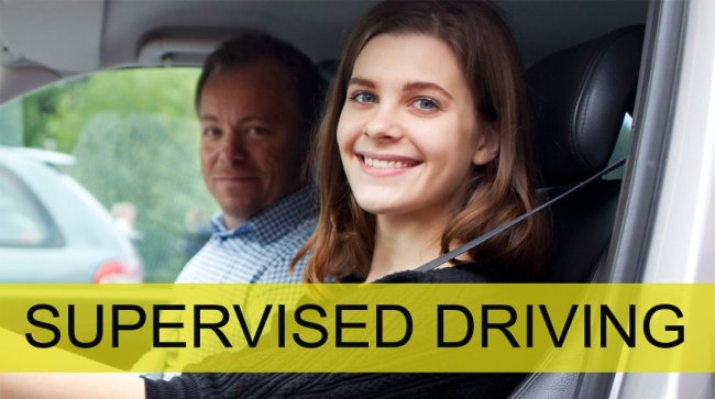 Supervised driving