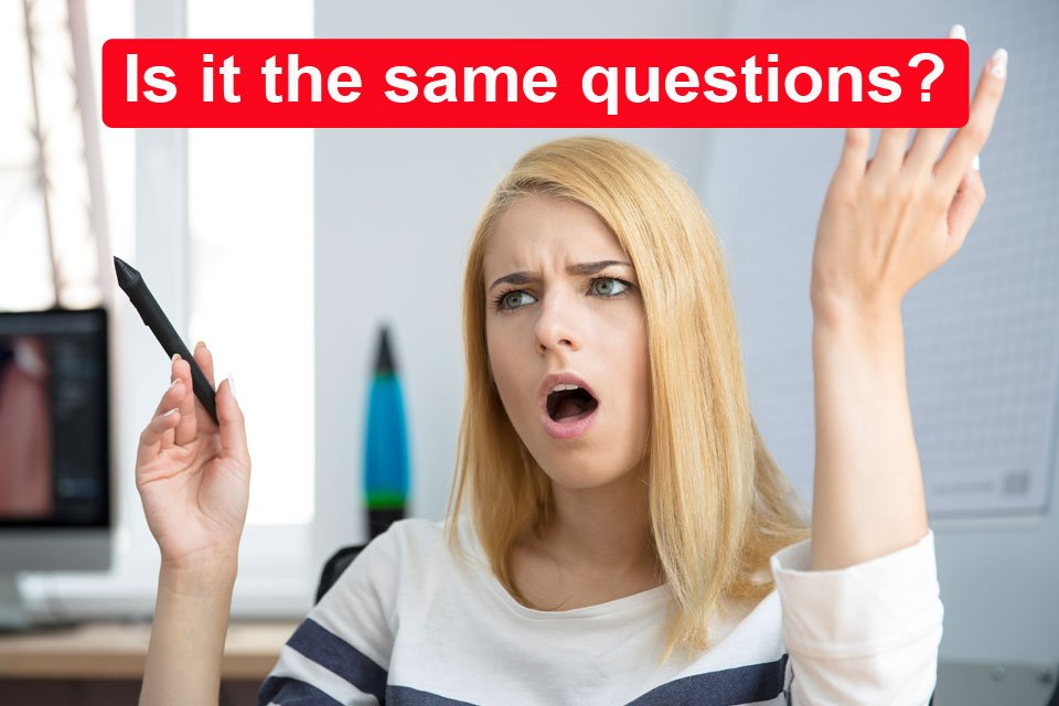 Is it the same questions on the real DMV test?