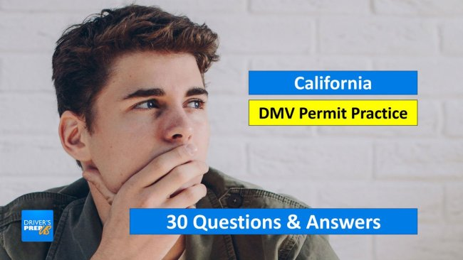 30 Test Questions for the DMV Test