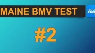 Maine BMV Test video 2
