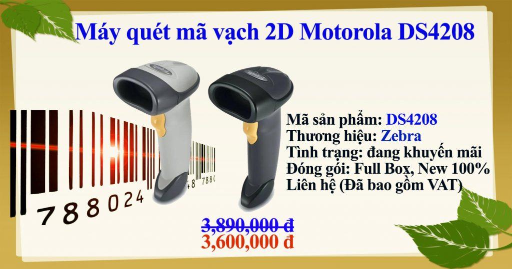 Máy quét mã vạch 2D Motorola