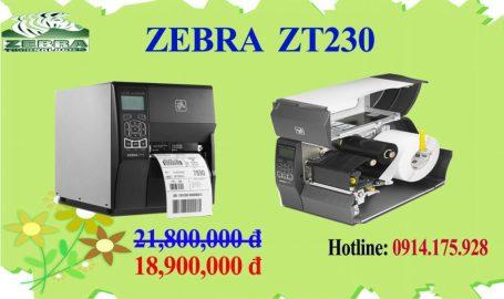 máy in Zebra giá rẻ zt230