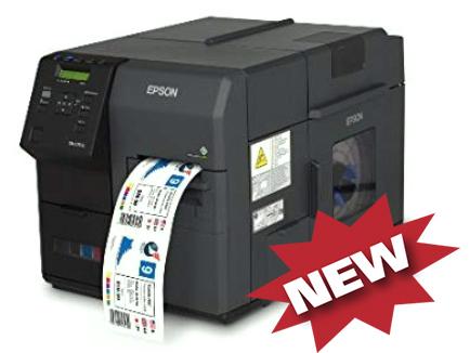 Máy in tem màu Epson C7500, máy in zebra màu, may in tem mau