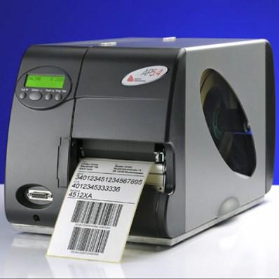 Máy in mã vạch công nghiệp Avery Dennison AP 5.4, máy in avery 5.4