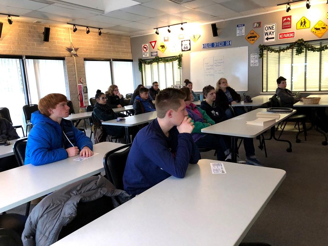 teen driving classroom