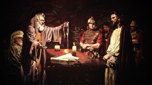 Jesus before Caiaphas