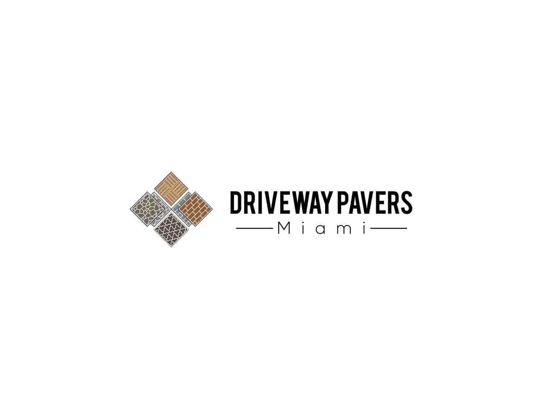 driveway pavers miami logo design