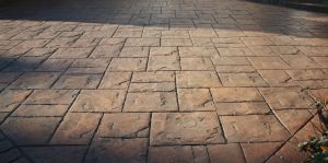 Pattern Imprinted Ashlar Print