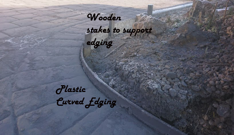 Imprinted concrete driveway – The 5 step plan to get the beautiful curves in all the right places?