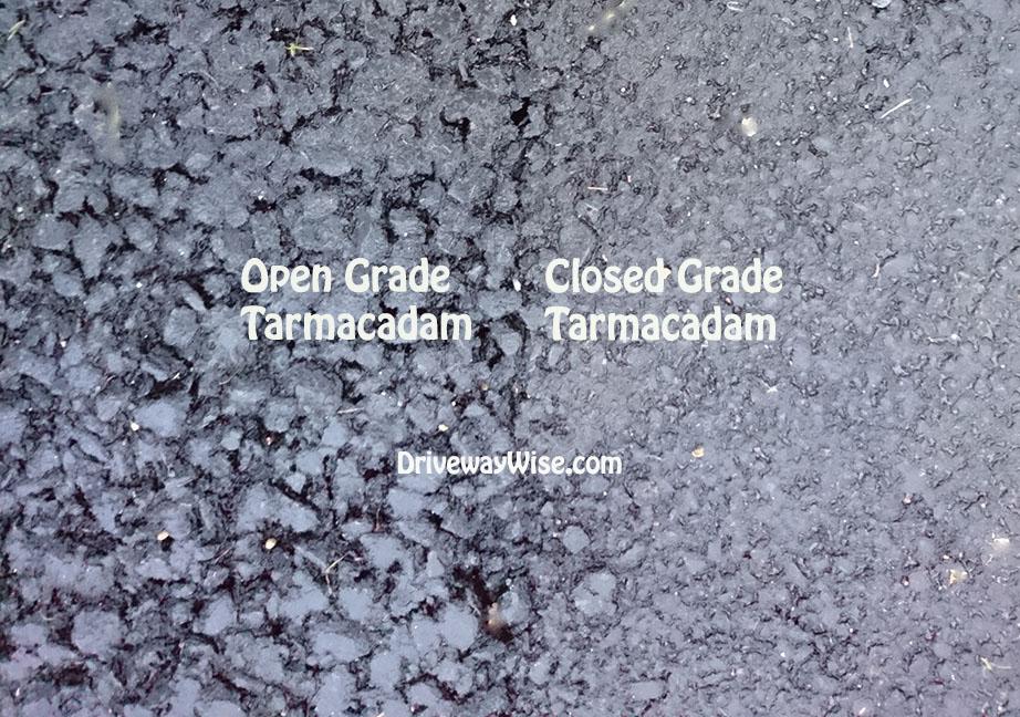 open grade tarmac-closed grade tarmac-tarmac-driveway-asphalt-driveway