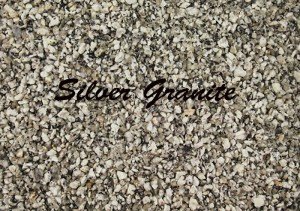 resin bound gravel silver granite