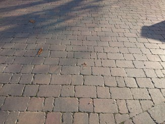 block paving or pattern imprinted concrete