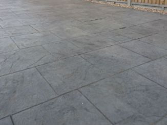 imprinted concrete low maintenance