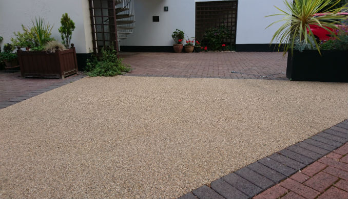 low maintenance driveway resin bound