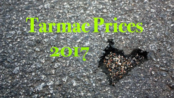 Tarmac prices 2017 tarmacadam paving