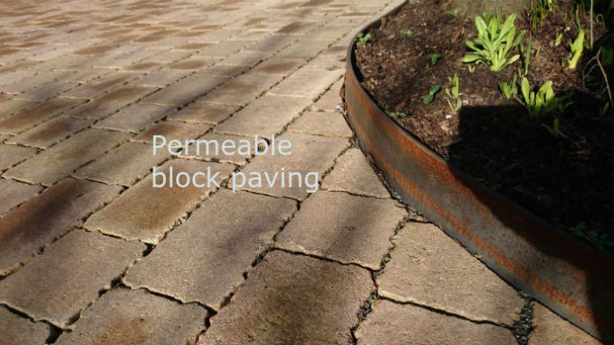 what is permeable paving