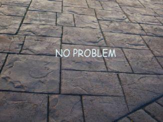 pattern imprinted concrete problems