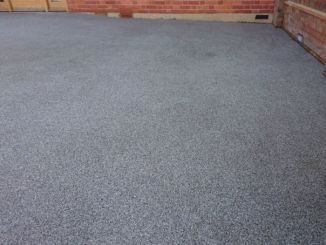 resin driveway overlay