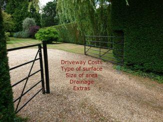 driveways cost