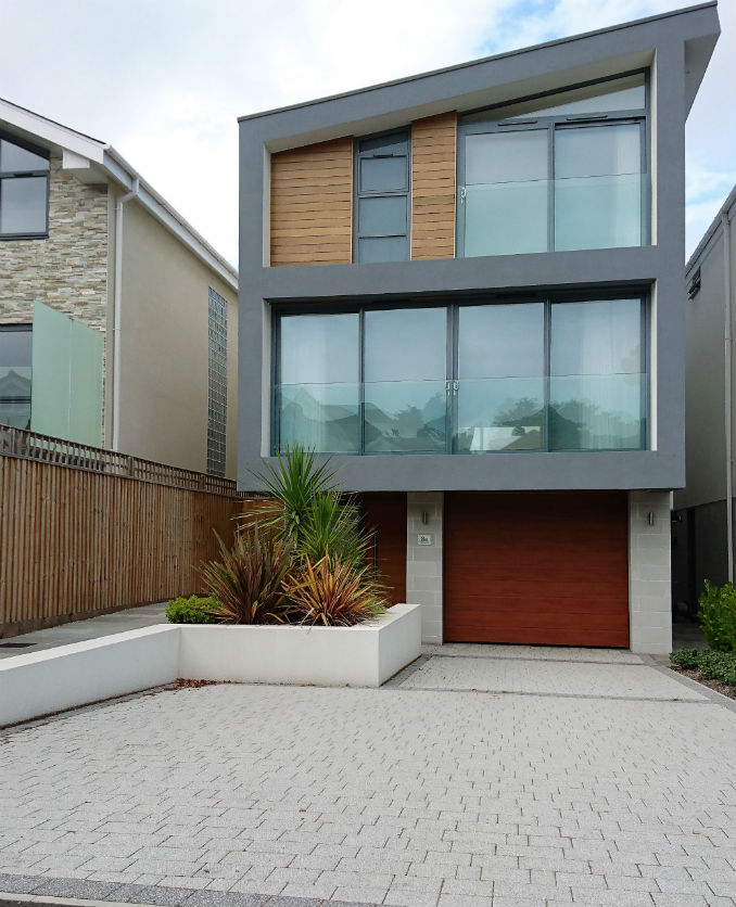 Block Paving Modern Style Home